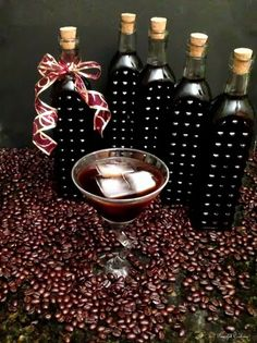 Cooking for My Peace of Mind: Homemade Coffee Liqueur for #HandcraftedHolidays