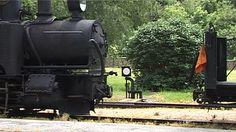 LUNZ, AUSTRIA - JUNE 04: Steam Locomotive in railway station on June 04, 2006 in Lunz, Austria.
