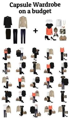 You can build a Capsule Wardrobe on a budget! Need it badly love it madly! #capsule wardrobe #budget wardrobe