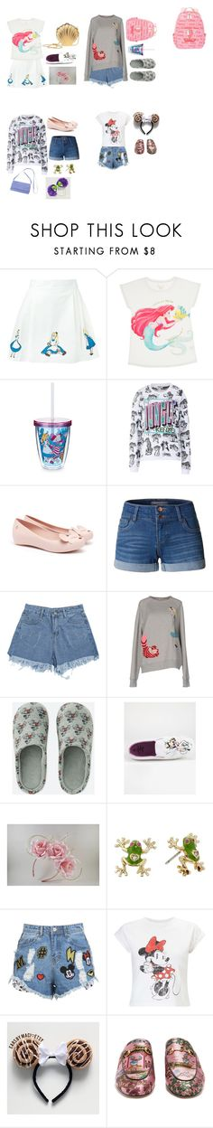 """""""Future Disney Birthday Outfits 5/?"""" by biebersqueen15 ❤ liked on Polyvore featuring Olympia Le-Tan, LE3NO, Uniqlo, Disney, Betsey Johnson, Lanvin, Disney Stars Studios, Miss Selfridge and Gucci"""