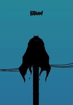 Batman! Minimalist poster