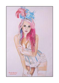 SOMETHING BLUE -KELLY EDEN- by marilisaargentieri.deviantart.com on @deviantART