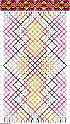 Muster # 91721, Streicher: 26 Zeilen: 44 Farben: 10