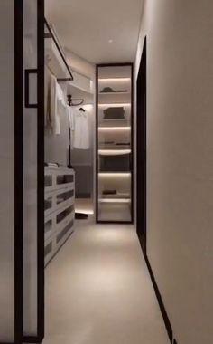 Bedroom Closet Design, Bedroom Furniture Design, Home Room Design, Wardrobe Door Designs, Closet Designs, Walk In Closet Design, Dressing Room Design, Cupboard Design, Luxury Closet