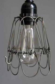 Breakfast bar down light cages