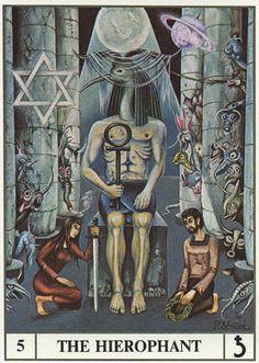 Ansata Tarot -- Hierophant