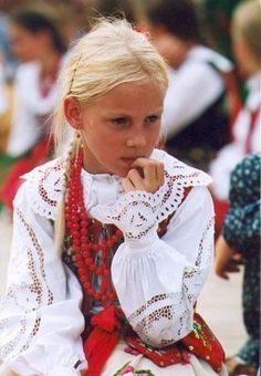Can't wait to put my lil princess into my old krakowianka outfit...