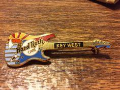 Key West Hard Rock Cafe Guitar Pin