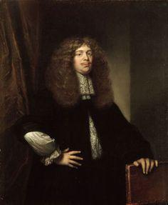 НЕТШЕР КАСПАР (NETSCHER CASPAR) (1639 - 1684) Portrait of Coenraad van Beuningen (1673, Rijksmuseum Amsterdam)