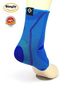 GATEWELL Light Series Elite Knitted Enwrap Ankle Support Compression Brace Sleeves For Sports, Arthritis, Joint Pain, Faster Recovery For All Types Of Outdoor Activities DODGREBLUE - M *** Visit the image link more details. (This is an Amazon affiliate link)
