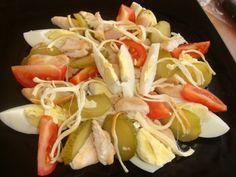 6 рецептов салатов с копченым сыром-косичкой