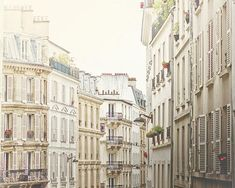 Montmartre Morning, Paris photography, Paris art print, large photography