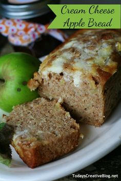 Cream Cheese Apple Bread...