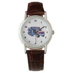 EMS Ambulance Wristwatches