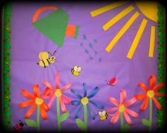 Sweet bulletin board flowers
