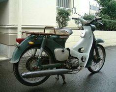 Cute! Honda Super Cub C100