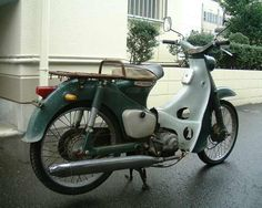 Cute! Honda Super Cub C100
