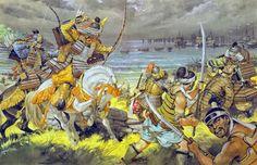 """""""The mongol invasion, 1281"""", Angus McBride"""
