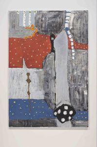 """Mandolin"" (2010-11) by Richard Aldrich. (Photo: Bortolami Gallery)"