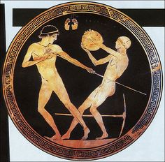 776 BC: The first Olympic Games