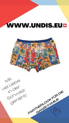 UNDIS www.undis.eu die bunten, lustigen und witzigen Boxershorts & Unterhosen für Männer, Frauen und Kinder. Handgemachte Unterwäsche - ein tolles Geschenk! #undis #kinderzimmerideen #kinderzimmerjunge #nähen #diy #kinderzimmermädchen #kindergarten #womensfashion #modischeoutfits #herrenbekleidung #herrenboxershorts #damenunterwäsche #männergeschenke #frauengeschenke #handmade #selfmade #familie #kids #boys #girls Casual Shorts, Women, Fashion, Self, Sew Gifts, Gifts For Women, Funny Underwear, Gift Ideas For Women, Men's Boxer Briefs