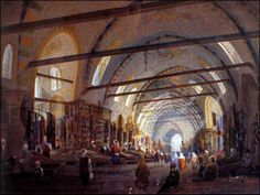 Grand Bazaar in Ottoman Times Grand Bazar, Grand Bazaar Istanbul, Islam, Online Travel, Ottoman Empire, Historical Pictures, Rest Of The World, Istanbul Turkey, Old City