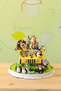 Madagascar cake Más