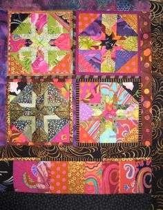 "Folded Star Banner  quilt pattern 16"" x 20"""