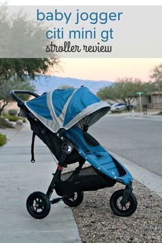Go Off the Beaten Path With the All-Terrain Baby Jogger Citi Mini GT Stroller