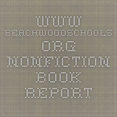 www.beachwoodschools.org nonfiction book report