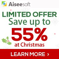 #Aisesoft Christmas 40% Off Aiseesoft 55% Off Christmas Offer Discount Coupon