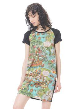 Minikleid mit Ballon Silhouette  Oh! Das Bringt dich zum Staunen, unser O Kleid aus der 3Elfen Classics Kollektion. Mini, Silhouette, Shirts, Black Flowers, Elves, Long Dresses, Cotton, Shirt, Dress Shirt