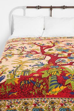 urban outfitters tree of life bedspread