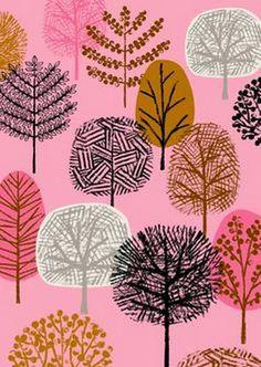 Imprimolandia: Estampados de árboles