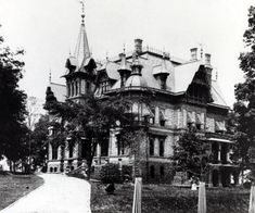 The Schandein Mansion Milwaukee,WI. Built in 1889, it stood until 1929 at the corner of 24th & Wisconsin.