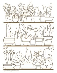 FREE Printable Adult Coloring Pages or Sheets! Instantly Download Our PDFs to Totally De-Stress!