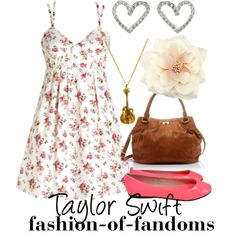 """""""Taylor Swift"""" by waveyourwands97 on Polyvore"""
