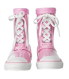 rain boots for little girls.  adorable!