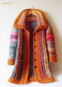 crochet coat