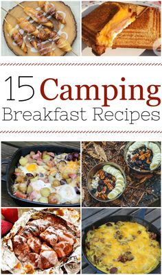 Here are 15 easy camping breakfast ideas for your next trip outdoors into the woods. It turns out that you can cook just about anything on a campfire, from healthy and balanced breakfast skillets to yummy burritos. Head out to the woods Easy Camping Breakfast, Breakfast Ideas, Campfire Breakfast Burritos, Breakfast Skillet, Camping Hacks With Kids, Camping Dinner Ideas, Lunch Ideas, Aire Camping Car, Beach Camping