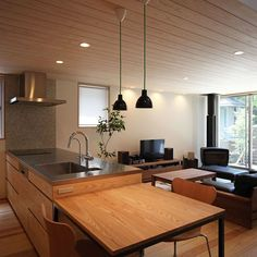 Shocking Info Regarding Kitchen Table Contemporary Room Uncovered 77 - thehomedecores Small Farmhouse Kitchen, Round Kitchen, Rustic Kitchen, Kitchen Dinning Room, Apartment Kitchen, Kitchen Layout, Grey Kitchen Floor, Kitchen Flooring, Light Green Kitchen