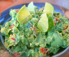 The Best Rockin' Guacamole with Tomatillos + Lime |Gluten-Free Goddess® Recipes