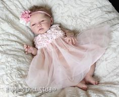 Solid Silicone Baby Dolls | Romie Baby Full Bodied Solid Silicone Doll Sculpted Reborn BY Romie ...