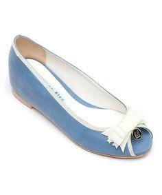 Look at this #zulilyfind! Blue SamSam Flat #zulilyfinds