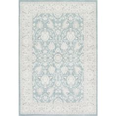 nuLOOM Wharton Blue 9 ft. x 12 ft. Area Rug-KKZG09A-9012 - The Home Depot