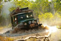 Land Cruiser in action