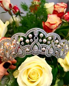 The fluid form of this Garrard tiara sings of enduring elegance. Tell us where would you wear it?