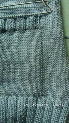 Best Way to Attach Knit Pockets to a Knit Garment - Crochet boleros Knitting Basics, Knitting Stitches, Baby Knitting, Knitting Patterns, Chevron Crochet Patterns, Crochet Motifs, Knit Cardigan Pattern, Shrug Pattern, Free Pattern