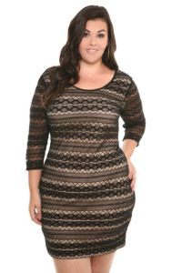 I have to have this dress from Torrid...Plus size and stylish