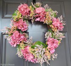 Spring Wreath - DIY wreath
